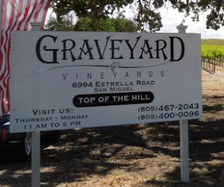 G is for Graveyard Vineyards