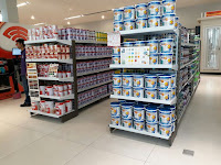 desain toko kelontong toko modern toko supermarket desain meja kasir