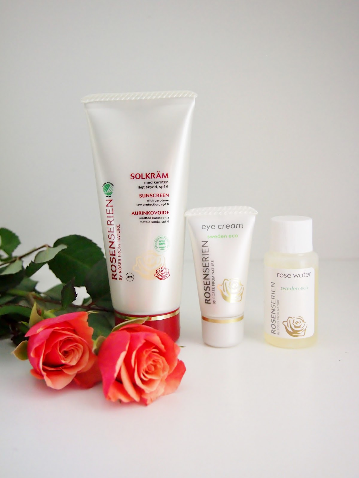 Rosenserien kosmetiikka