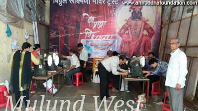 Spinning, Winder / devotees, Hanks, Praying, Bhandup / Mumbai, Shriharigurugram/ Amber charkha