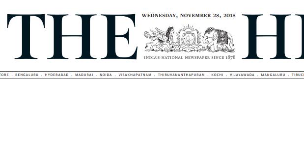 The Hindu ePaper Download 28th November 2018