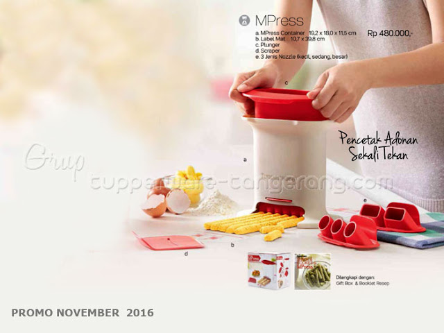 MPress Promo Tupperware November 2016