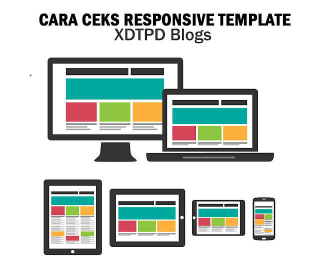 Cara Cek Responsive Template (Mobile Friendly)