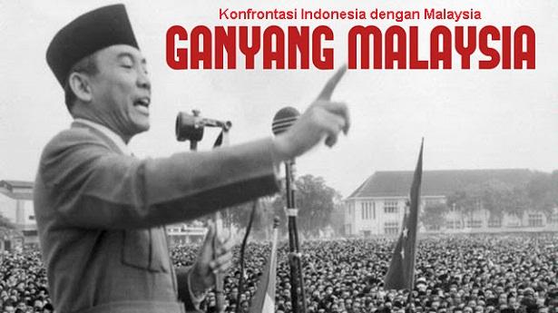 Konfrontasi Indonesia dengan Malaysia - berbagaireviews.com