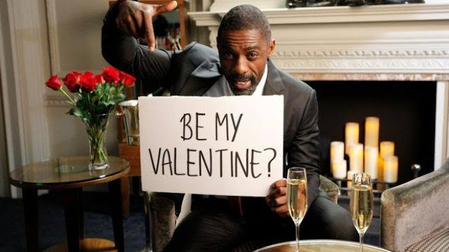 Will YOU be my Valentine? Asks Idriss Elba