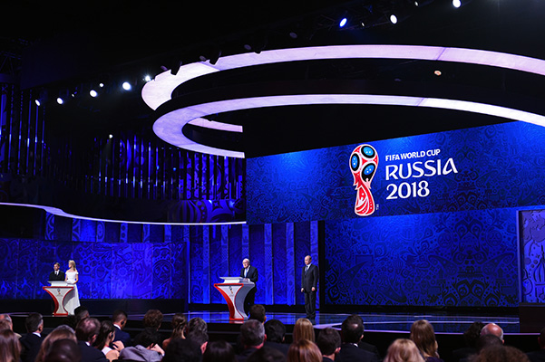 Provisional WORLD CUP draw was held-2018