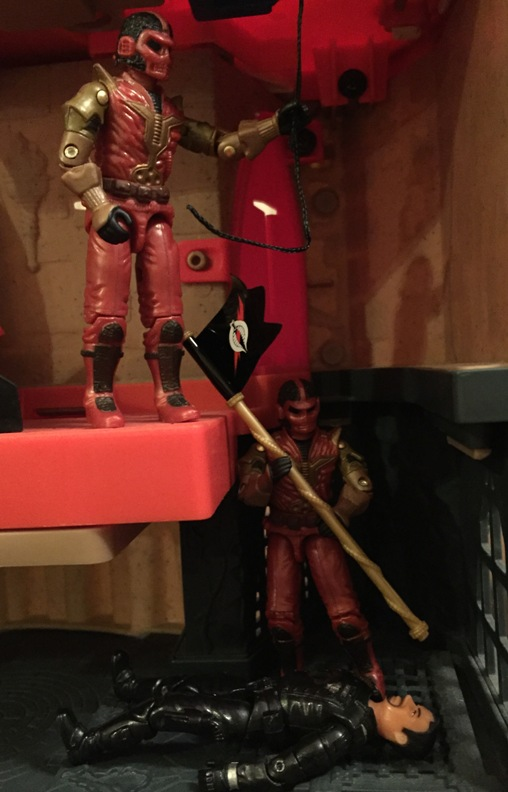 2005 Cobra Imperial Guard, Cobra Commander, Imperial Processional, TRU Exclusive, Baroness, Crimson Shadow Guard, Agent Faces