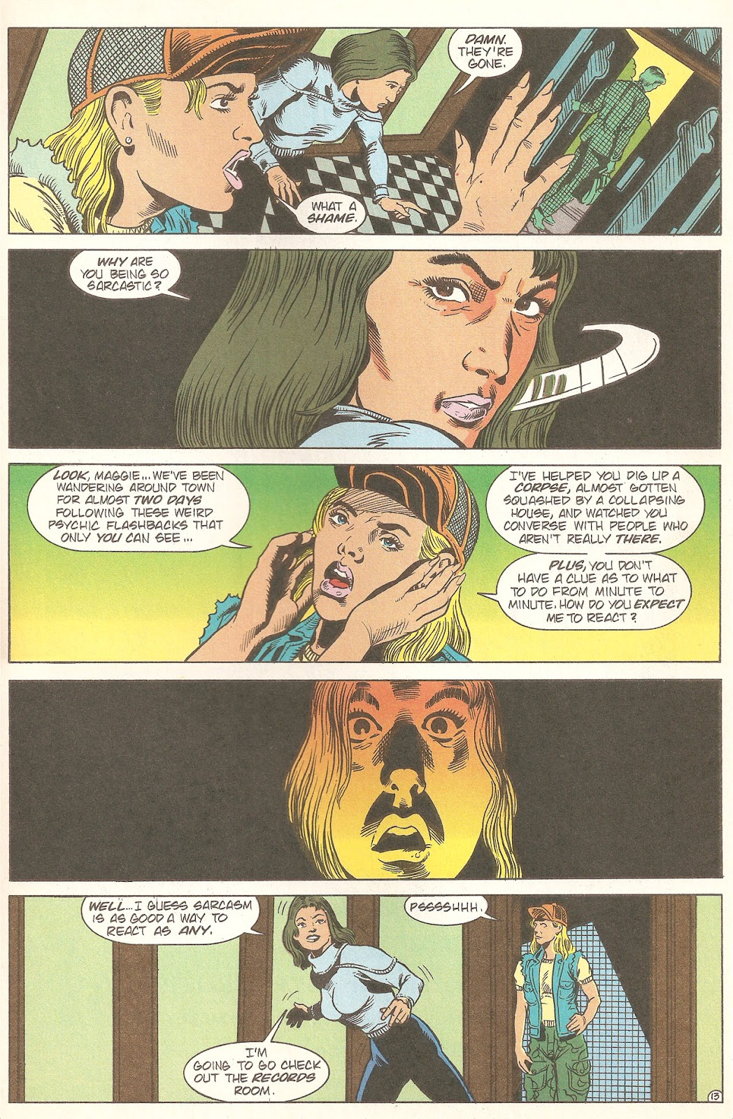 Read online A Nightmare on Elm Street: The Beginning comic -  Issue #2 - 15