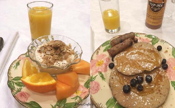 homemade breakfast Bed and Breakfast Provo Utah