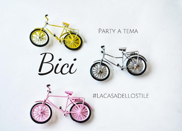 La casa dello stile: Party a tema bici
