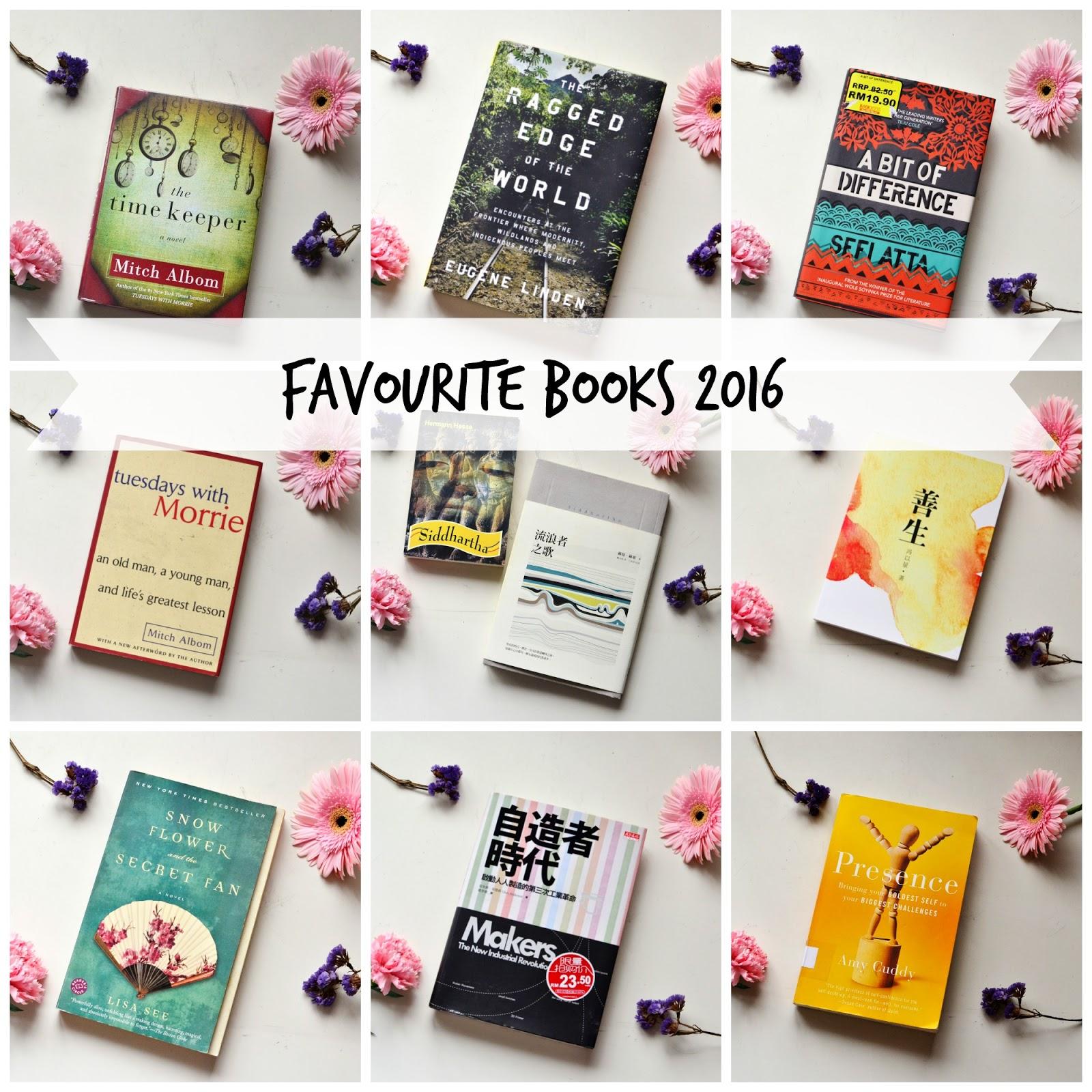 Favourite Books 2016 - Evetopia