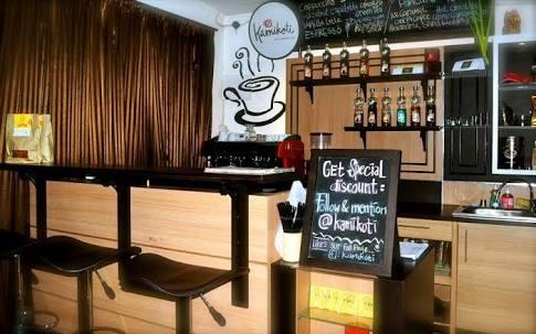 Cafe Kopi Minimalis