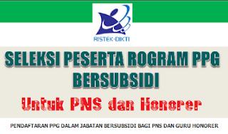 Syarat Pendaftaran PPG 2017 Bersubsidi untuk Guru PNS dan Honorer