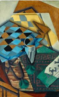 Le jeu d'échecs. - Juan Gris