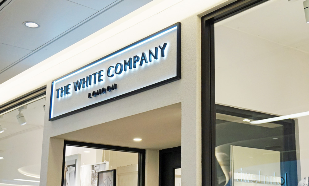 The White Company Store logo