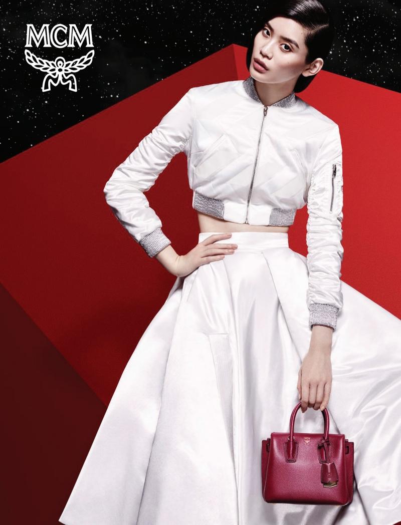 493b6316fee AD CAMPAIGN  Ming Xi   Noma Han for MCM