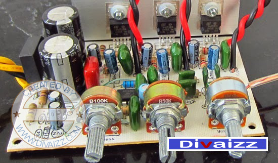 Power Amplifier Kit 2.1 System -TDA2030 www.divaizz.com