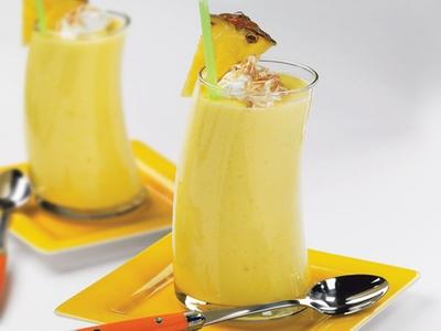 عصير الموز و البرتقال