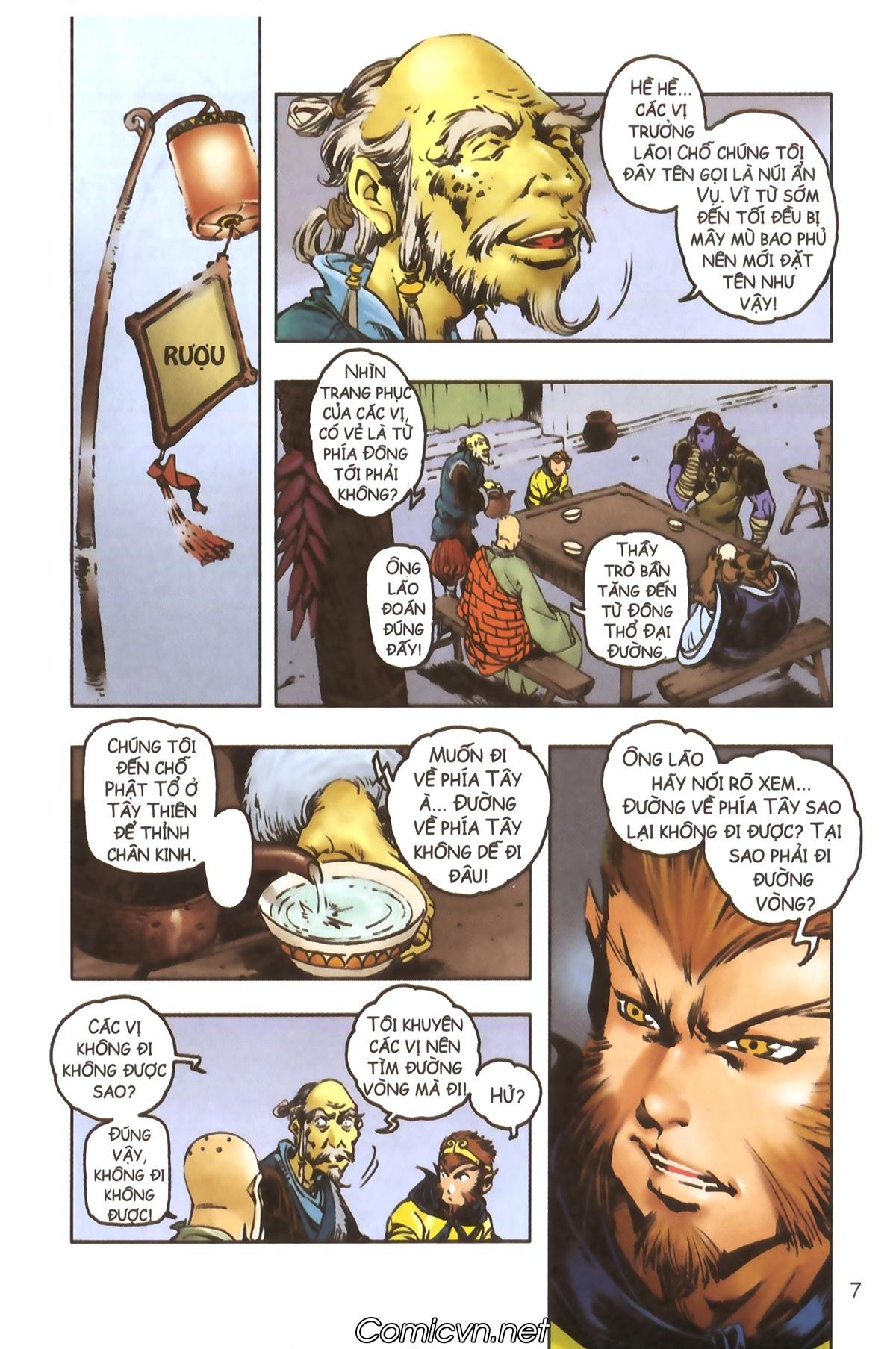 Tây Du Ký màu - Chapter 114 - Pic 5