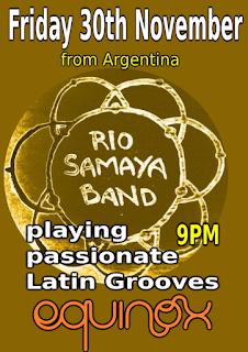 advert for Rio Samaya Concert at Equinox Phnom Penh Cambodia