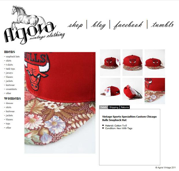 More Agora Vintage Custom Snapbacks - Agora Clothing Blog be0ffe4f568