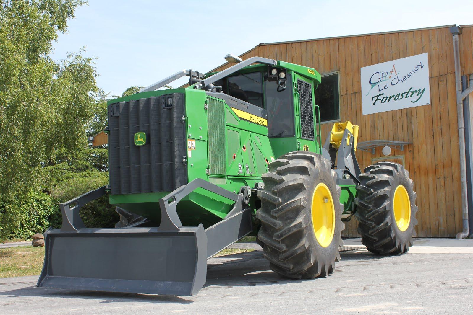 tracteur forestier timberjack neuf