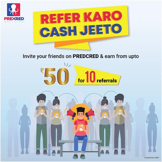 Predict and Earn with Predcred