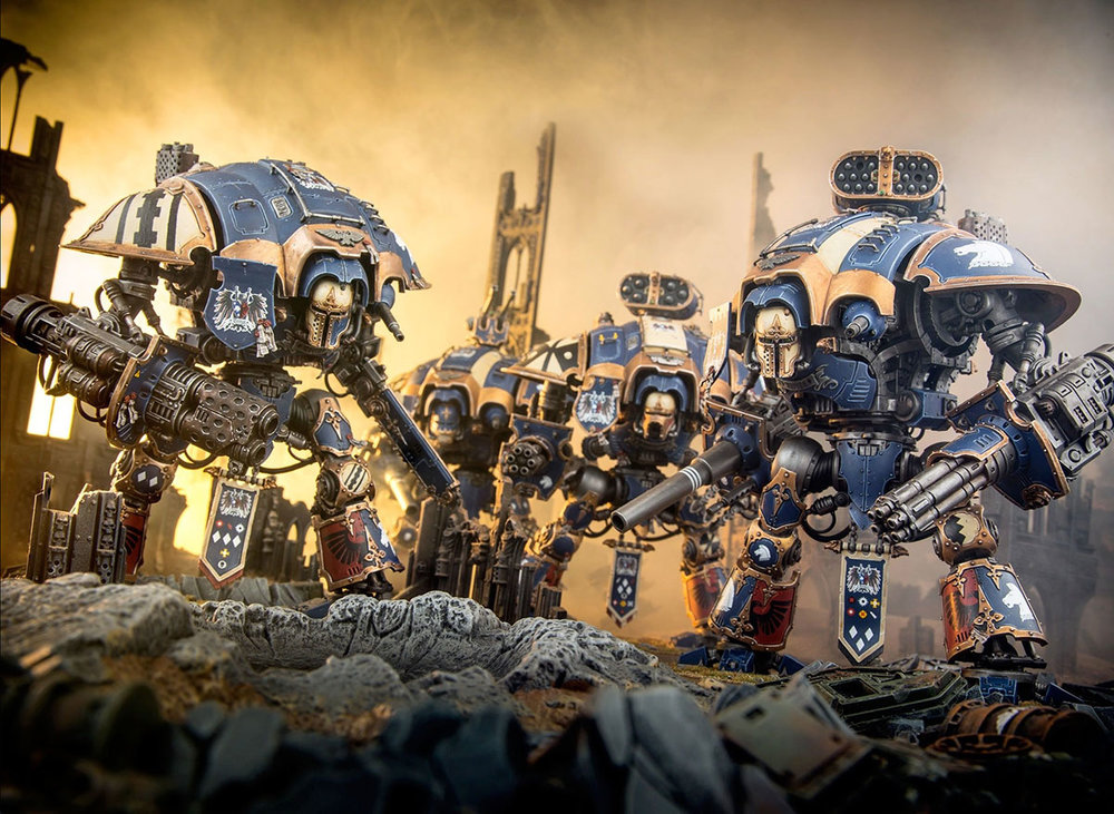 imperial knights 8th edition codex review