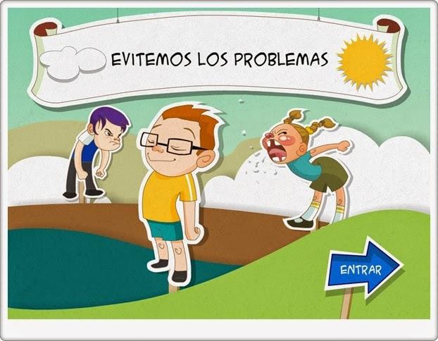 """""""Evitemos los problemas"""" (Actividad interactiva para la Resolución de Conflictos)"""