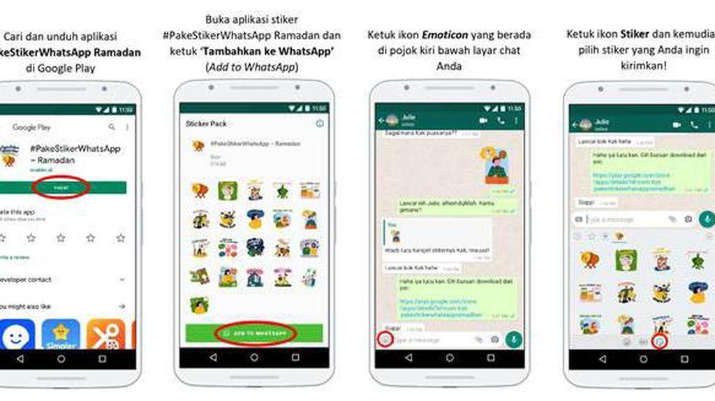 Stiker WhatsApp Ramadhan