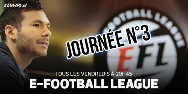E-Football League Journée 3