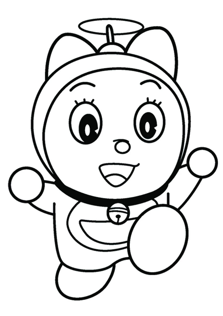 40 Gambar Komik Doraemon Hitam Putih