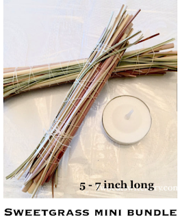 sweetgrass smudge bundle