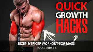 BICEP & TRICEP WORKOUT FOR MASS!