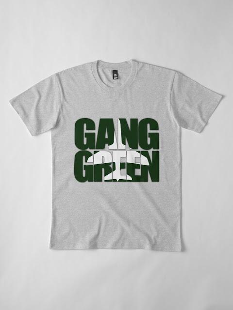 GANG GREEN TSHIRT - NY JETS