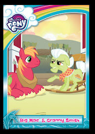 My Little Pony Big Mac & Granny Smith Series 5 Trading Card