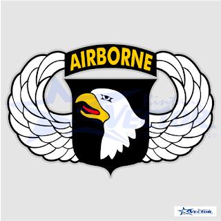 Air Borne Logo Vector cdr