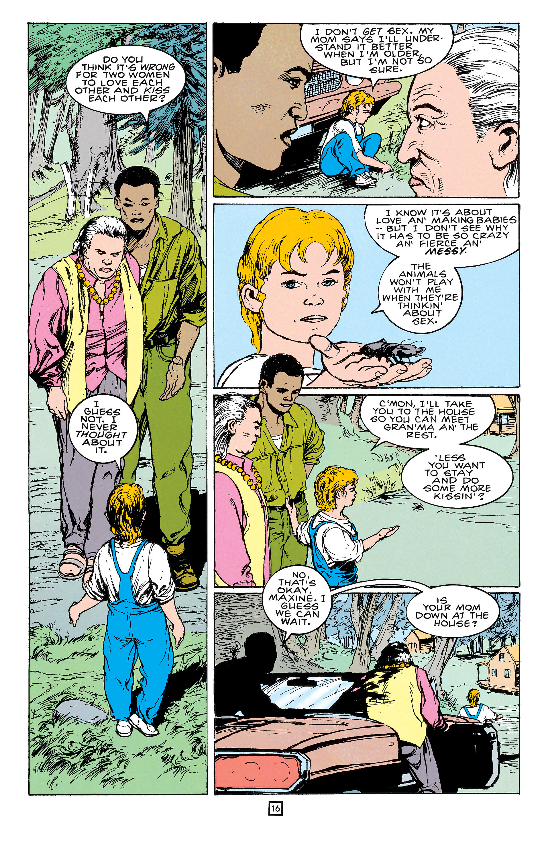 Read online Animal Man (1988) comic -  Issue #65 - 16