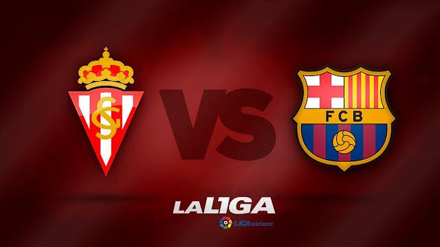 Sporting vs barcelona live stream