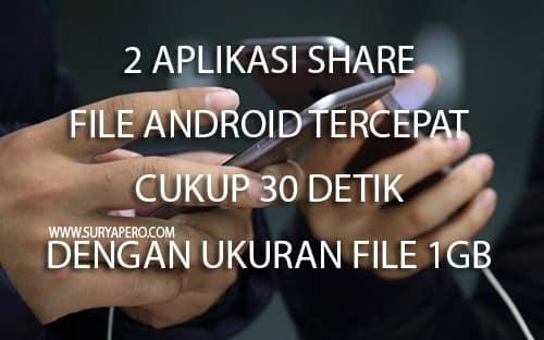 Bukan hanya file saja yang bisa di kirim, tetapi aplikasi game, gambar, file winrar dan masih banyak lagi.
