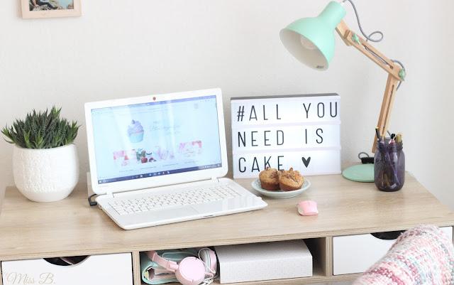 [Anzeige] Mein neues Arbeitszimmer: So entstehen meine Blogbeiträge (mit eBay)
