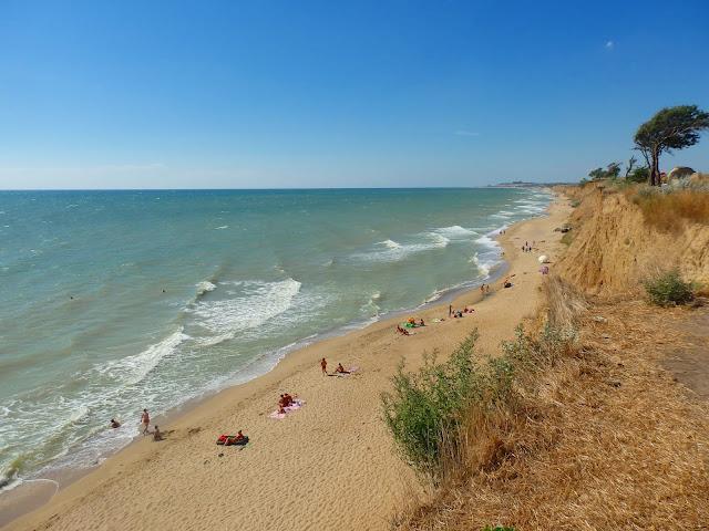 Ukraińskie morze jest naprawdę fajne!
