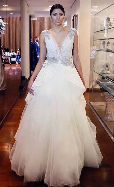 Vestido de noiva princesa Lucas Anderi