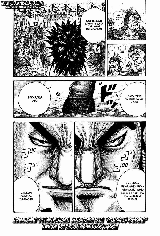 Baca Komik Manga Kingdom Chapter 310 Komik Station