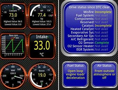 برنامج فحص السيارات torque pro