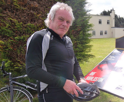 """Coun Carl Sherwood says: """"Cycling is a brilliant form of exercise and a great way to explore your local area."""" - picture on Nigel Fisher's Brigg Blog"""