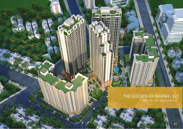 Toàn cảnh dự án The Golden An Khánh