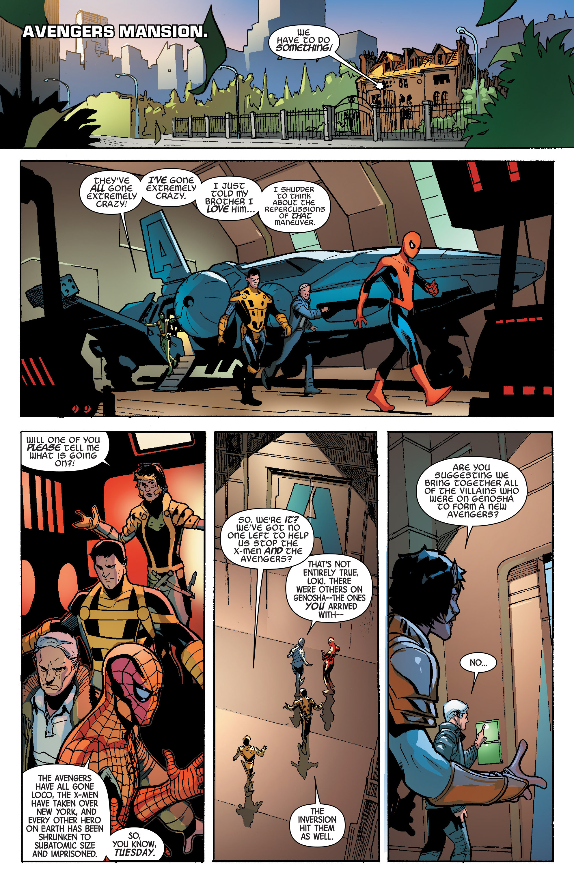 Read online Avengers & X-Men: AXIS comic -  Issue #6 - 23