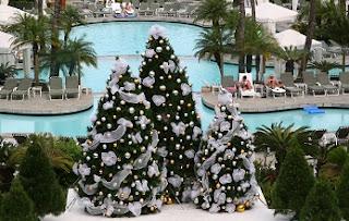 El buque de árboles navideños