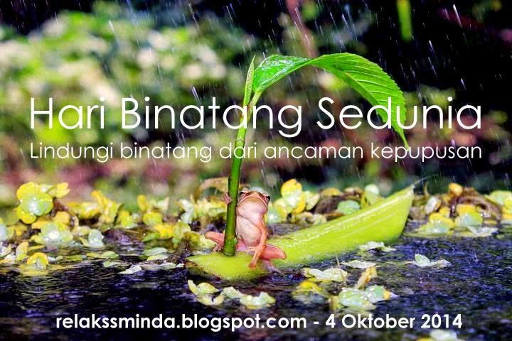 Hari Binatang Sedunia - World Animal Day
